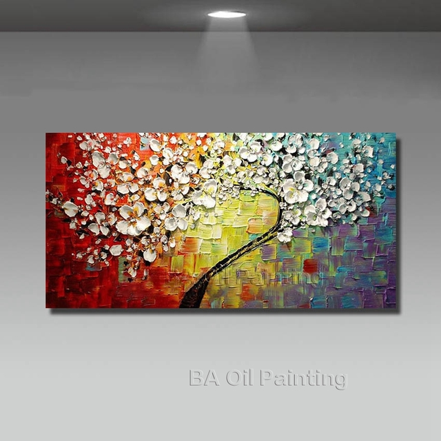 Aliexpress.Com : Buy Wall Art Abstract Paintings Modern Oil