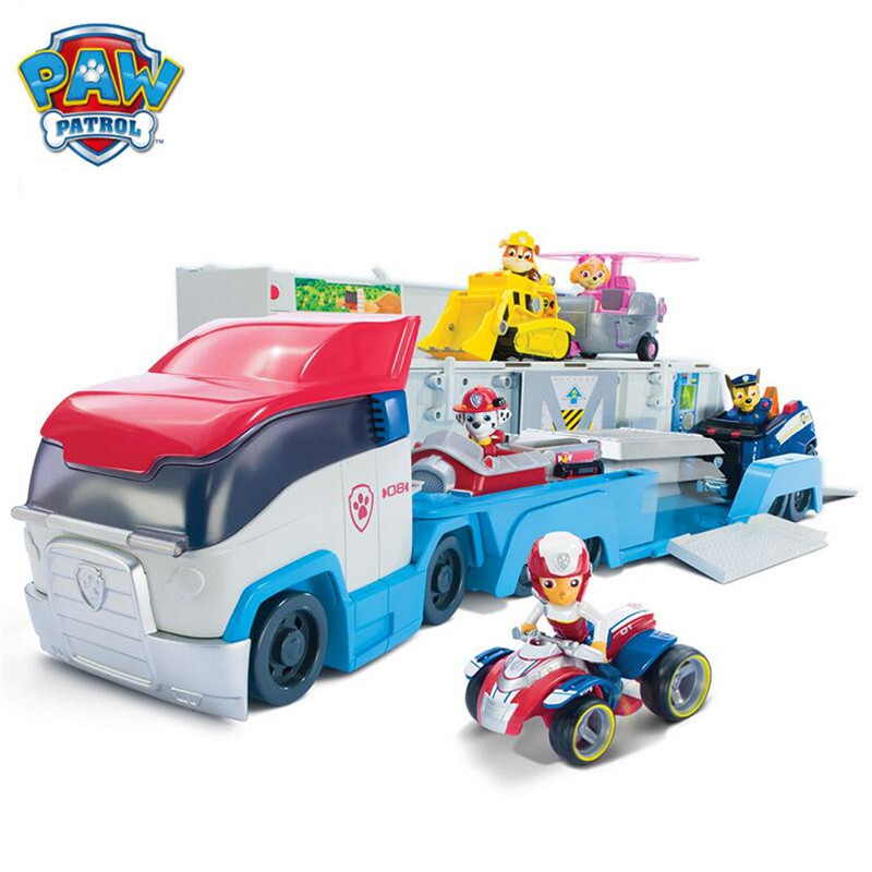 Paw Patrol Puppy Patrol Dog Doll car Cartoon Play Set toys Puppy Action Figure Patrulla Canina Juguetes kids toy Genuine Hot 12pcs set canine patrol dog toys russian anime doll action figures car patrol puppy toy patrulla canina juguetes gift for child
