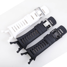 35mm Silicone Strap Watchband for SUUNTO Ambit 1 2 3 2R 2S Black White Wristwatches Sport Men Rubber Wristband Watch Belt