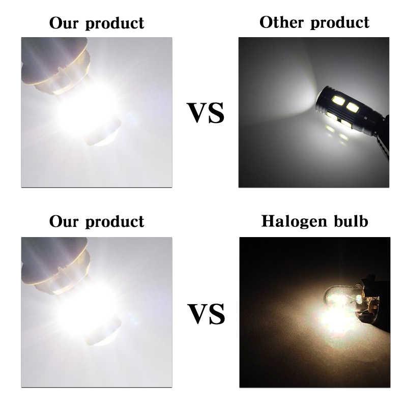 2x T10 3014SMD LED Error libre cejas párpados bombilla de luz para VW POLO Golf 5 5 5 6 6 7 GTI Passat B5 b6 B7 Jetta Bora MK5 MK6 Tiguan