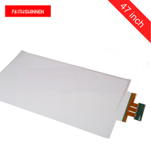 47 inch touch foil film touch screen 10 touch points interactive capacitive foil