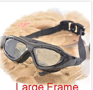 Professional Diopter Myopia Silicone Swimming Goggles Anti-Fog Waterproof With Earplugs 3