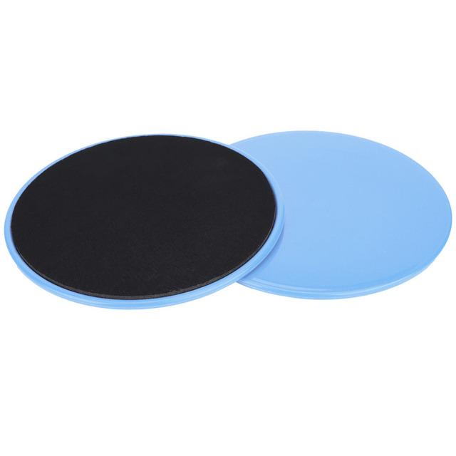 Pastel Blue Color Round Core Sliders 2 Pcs Set