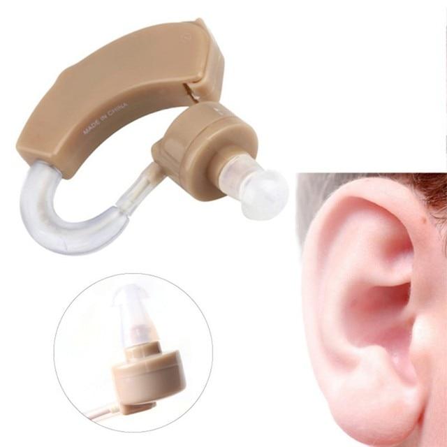 Горячие Продажи Тон Слуховые Аппараты Aid Kit За Ухо Звук Усилитель Звука Регулируемая Устройство Срок годности