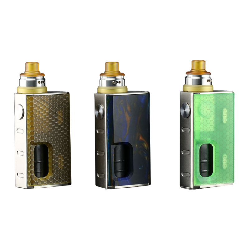 Original Wismec Luxotic BF Squonk Box with Tobhino BF RDA Kit with 7 5ml bottle Electronic