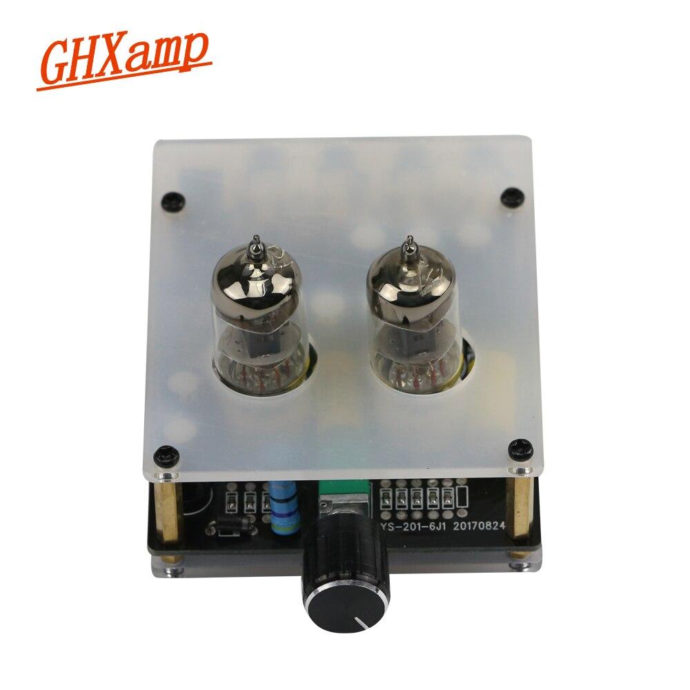 GHXAMP 6j1 Tube À Vide amplificateur Préamplificateur fièvre Hifi Bile Préampli Conseil amp DC12V