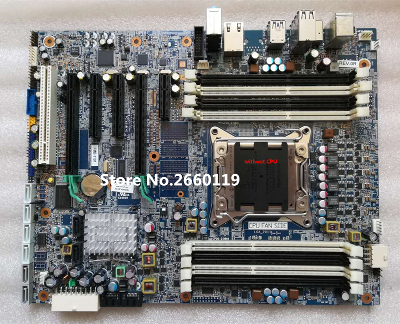 цены Desktop mainboard for Z420 708615-001 618263-002 708615-601 motherboard Fully tested