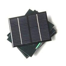 Hot 1.5 W 18 V Mini Célula Solar Policristalino Do Painel Solar DIY pequeno Kit de Educação Energia Solar Para 12 V Carregador de Bateria de Alta Qulity