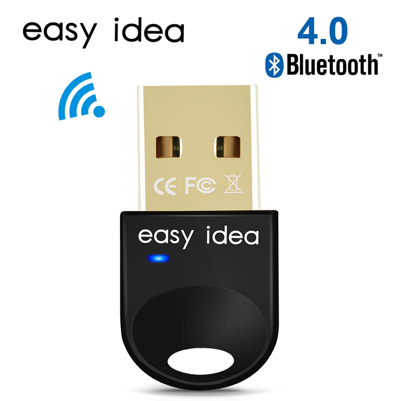 <font><b>USB</b></font> <font><b>Bluetooth</b></font> Adapter PC <font><b>USB</b></font> <font><b>Bluetooth</b></font> Dongle Mini <font><b>Bluetooth</b></font> Empfänger CSR 4,0 Audio Musik Blau Zahn Sender Für Computer image