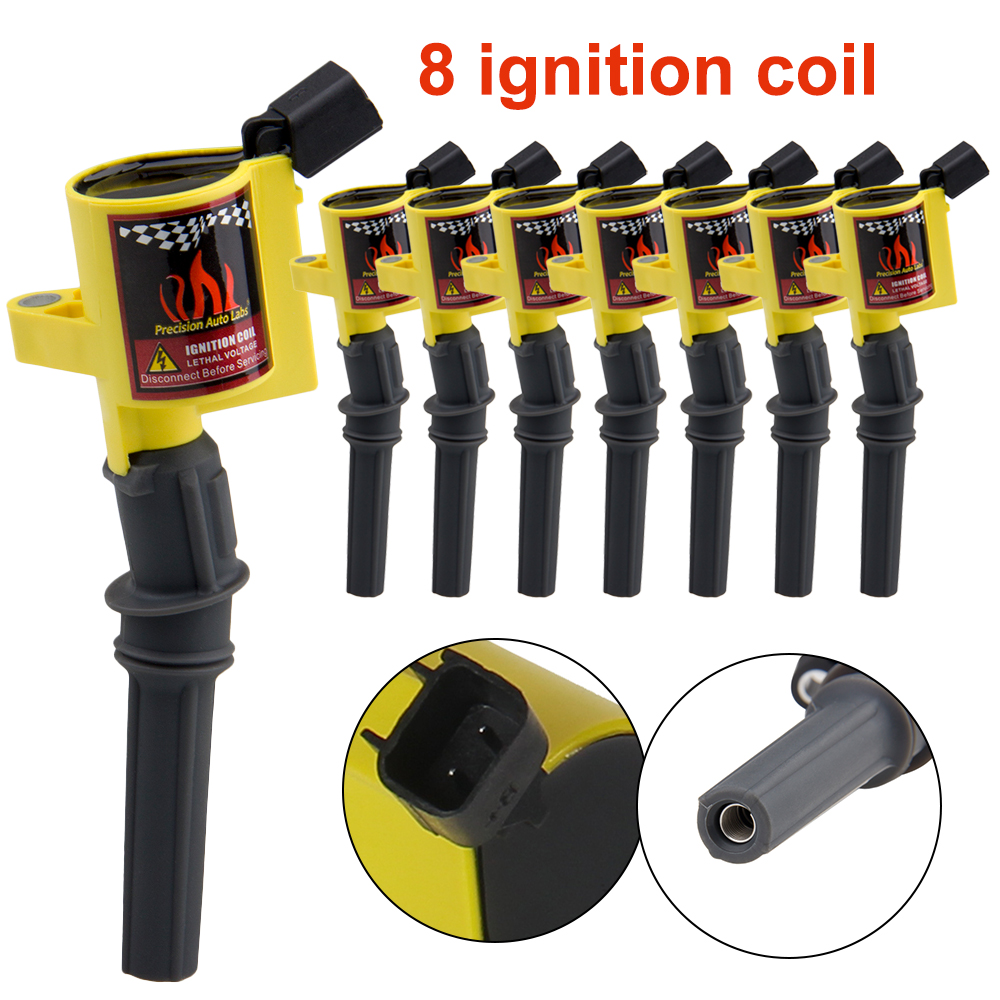 Set of 8 Ignition Coils for 1998-2011 Lincoln Navigator Town Car 4.6L