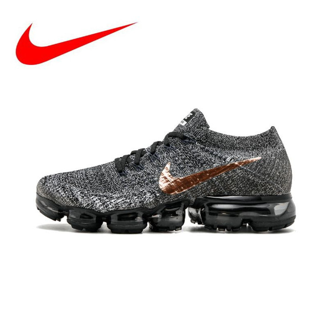 6d29f49fa413e Original Nike Air VaporMax Be True Flyknit Breathable Men s Running Shoes  Sports Outdoor Sneakers size40-45
