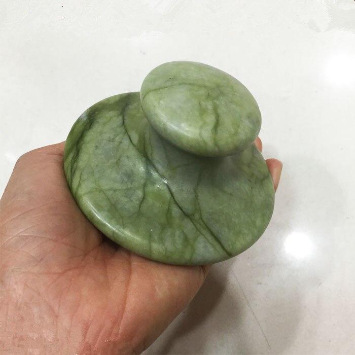 1 piece Large mushroom hot spa stone for back massage
