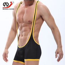 Gay Leather Lingerie Bodystocking Latex Sexy Cut Leotard Lace Body Stocking Swimwear Underwears Mens