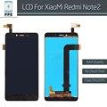"""Нет dead Pixel Замены Для Xiaomi Redmi Note 2 ЖК-дисплей с Сенсорным экраном Дигитайзер Ассамблеи Hongmi note 2 LCD 5.5 """"черный"""