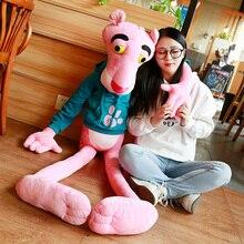 1PC 55 150CM Hohe Qualität Große Größe Baby Spielzeug Spielzeug Nette Frech Rosa Panther Plüsch Puppe spielzeug Home Decor Kinder Geschenk