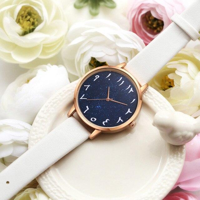 d15da110b2e3 Lvpai marca reloj de pulsera de cuarzo de lujo de las mujeres árabe números  dial FeaturesLadies reloj femenino nuevo Bvlgari de B40