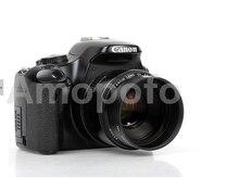 Amopofo câmera de alta qualidade padrão de metal lens hood 49mm para 82mm baioneta encaixa para canon lente da câmera