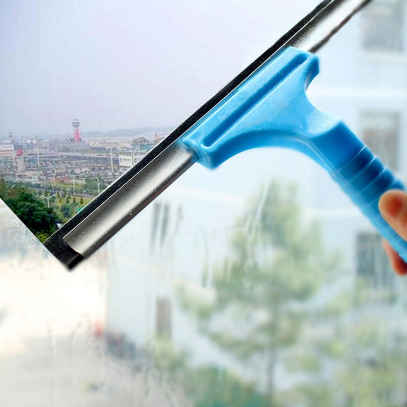 Glass Window Wiper Soap Cleaner Squeegee Home Shower Bathroom Mirror Car Blade A