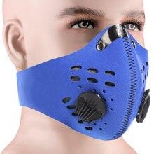 Пыленепроницаемая и ветрозащитная Водонепроницаемая маска для защиты рта PM 2,5, для мужчин и женщин, для занятий спортом на открытом воздухе