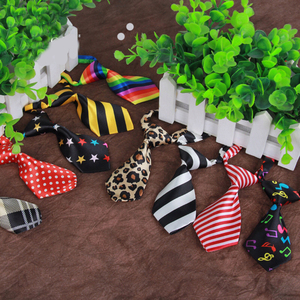 Animal Fashion Formal Cotton Bow Tie Dog Cat Classical Striped Bowties Colorful Butterfly Bowtie Pet Tuxedo Ties