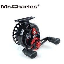 Mr.Charles New NND-L65 Gear ratio 3.6:1 Plastic raft Reels Fishing Left/Right Hand Fly Fishing Reel Raft Ice Fishing Reel
