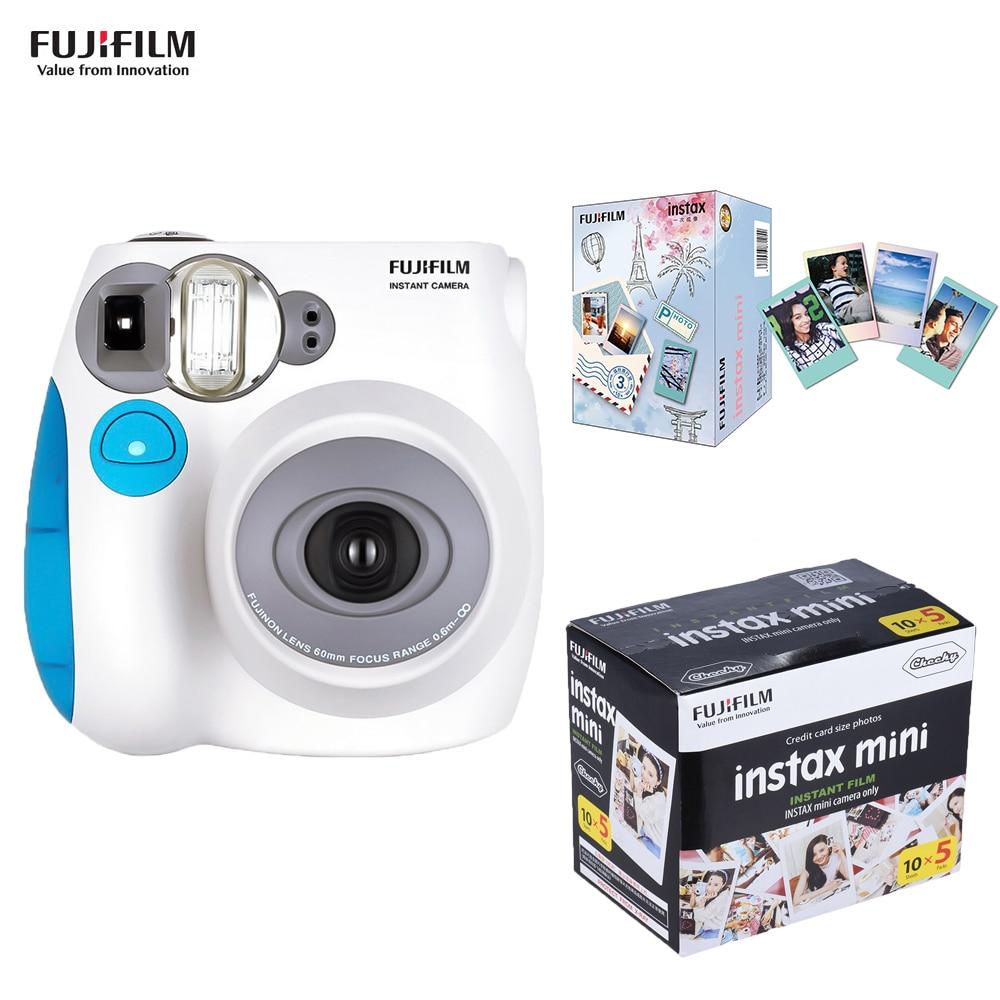 Fujifilm Instax Mini Film Camera Mini 7s Mini7c Instant Camera Mini7s Mini 7C Cheaper than Fujifilm