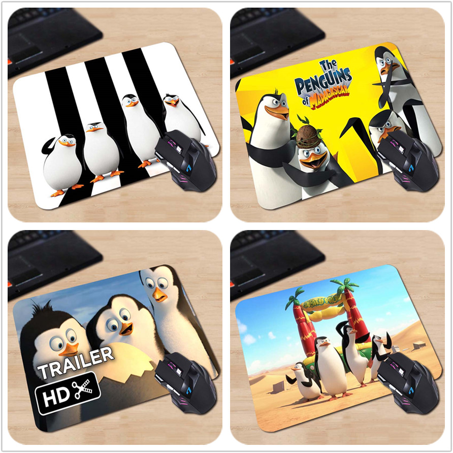 Optical Computer Gaming Speed Mouse Mat Top Fashion Cases The Penguins of Madagascar Mou ...