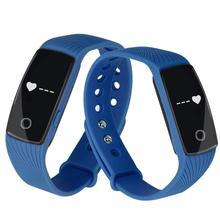 Хорошие Продажи Смарт Носимых Устройств Bluetooth Смарт Браслет Сердечного Ритма Браслет Синхронизации Телефон Mate Для IOS Android 25 Ноября
