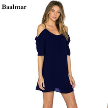 European Style Chiffon Dress Summer Casual Loose V-neck Sleeveless Solid Color Dresses Plus Size Women Clothing Beach Dress XXXL