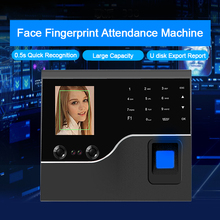OULET Biometric Face Recognition Fingerprint Time Attendance System TCP/IP USB Access Control System Clock Recorder Employees цена в Москве и Питере