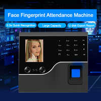 OULET Biometric Face Recognition Fingerprint Time Attendance System TCP/IP USB Access Control System Clock Recorder Employees