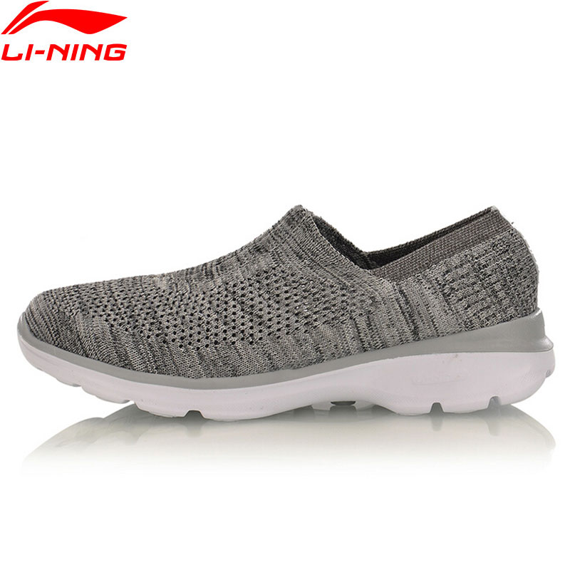 Li-Ning Easy Walker Walking Shoes Women Breathable Light Weight Fitness LiNing Sports Shoes Sneakers AGCM112 YXB048 li ning women walking shoes light weight textile