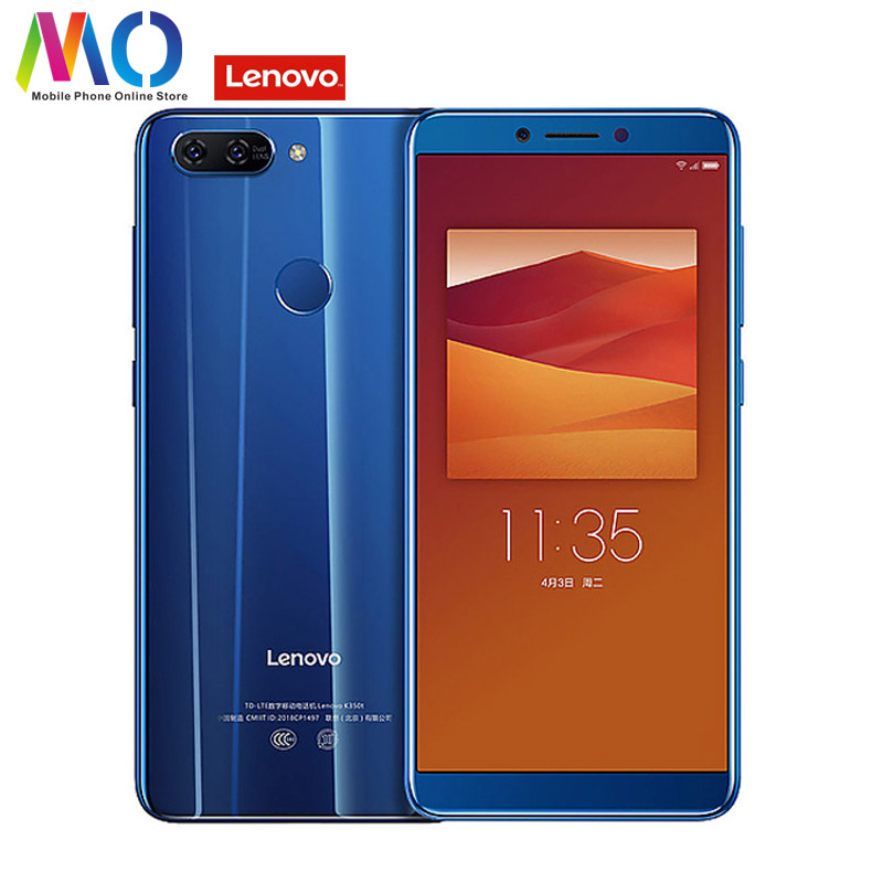 Global Version Lenovo K5 K350t Smartphone Android Celular Unlocked Mobile Phone 3GB 32GB MT6750 Octa Core