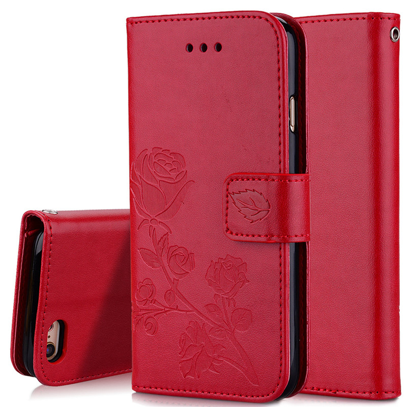 For iPhone 5S 7 8 X 6 6S Plus Wallet Flip Case For Samsung Galaxy S7 S6 Edge S8Plus G531H S3 S5 A3 A5 J1 2016 J5 J7 J3 2017 Bags