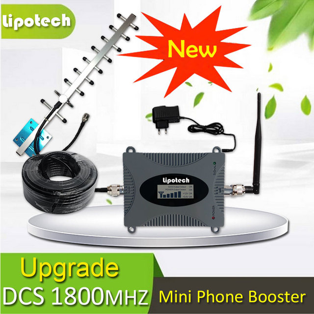 Diy Kit 65db Gain Gsm 4g Lte 1800mhz Mobile Cell Phone Signal