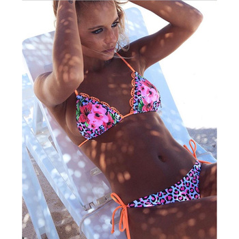 LI-FI Ruffle Back Bikini Swimsuit 3