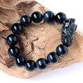 Blue Tiger Eye Beads Bracelet Feng Shui Wealth Pixiu Bracelet Jewelry Lucky Bracelet Piyao Bracelet Jewelry