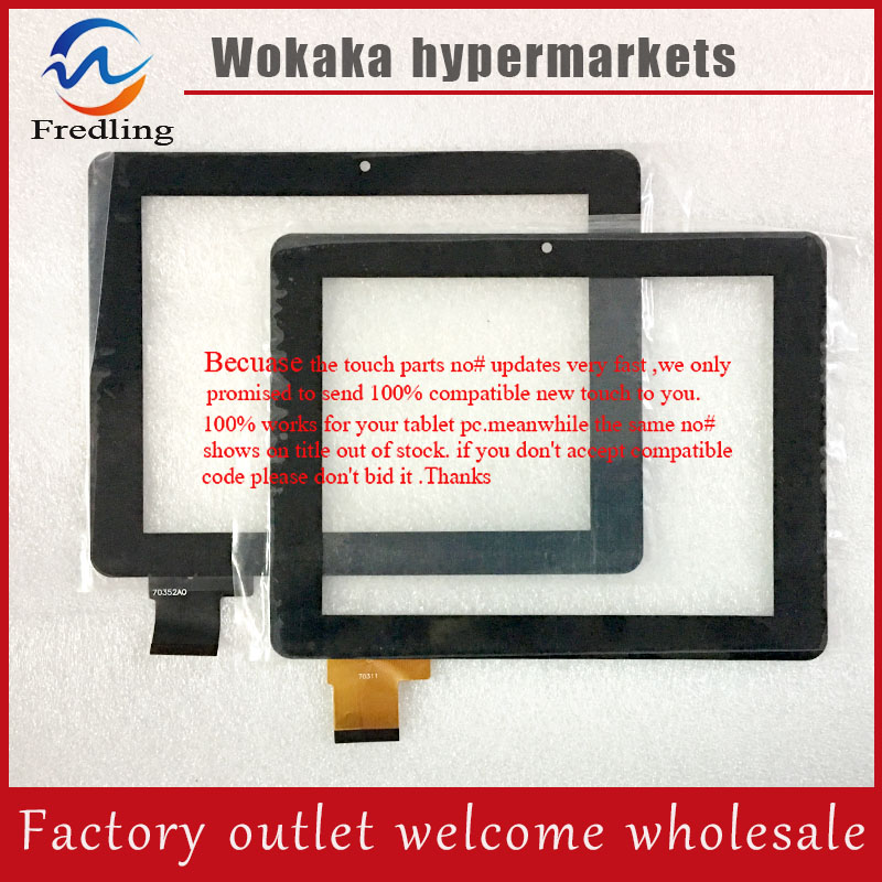 7'' Touch Screen Digitizer For Ployer MOMO7/AIWA AW900 Flat Cable Code:70352A0 flat 900