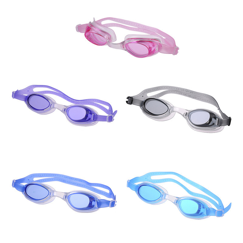 Kids Anti-fog Swimming Goggles Water Glasses Swim Eyewear Children Uv Anti Fog Swimming Pool Accessory