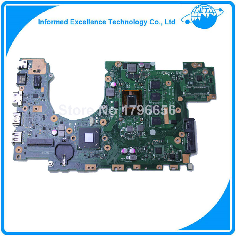For ASUS X402CA Laptop Motherboard 4GB RAM with 2117U CPU Mainboard REV 2.0 100% Tested Free Shipping