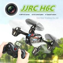2MP HD Camera font b Drone b font JJRC H6C 4CH 6 axis Gyro Mini RC