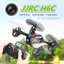 2MP HD Camera Drone JJRC H6C 4CH 6-axis Gyro Mini RC Quadcopter Helicopter
