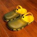 Los Hombres de verano Sandalias de Los Hombres Zapatos Del Jardín Mulas Y Zuecos Zapatos de Swing Pérdida de Peso de La Manera Nido Par Transpirable Sandalias de Playa # B1144