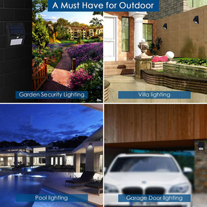 Image 5 - Solar Garden Light 100 LED Solar Powered PIR Motion Sensor Lamp Waterproof Outdoor Lighting Decoration Lights Wireless Wall Lamp