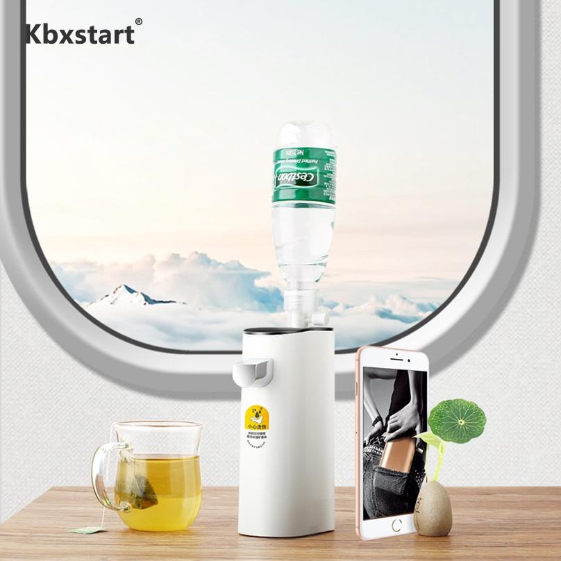 Dispensador de Água Quente Instantânea Kbxstart Mini Portátil de Viagem Desktop Dispensador De Agua 45 70 100 Graus de Temperatura Da Água Da Máquina