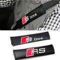 2 x tipo seguro de espesor ajustar dispositivo de cinturón de seguridad de coche de bebé niño cinturón de seguridad para la línea S de Audi A3 A4 A5 A6 Q5 Q7 TT A8