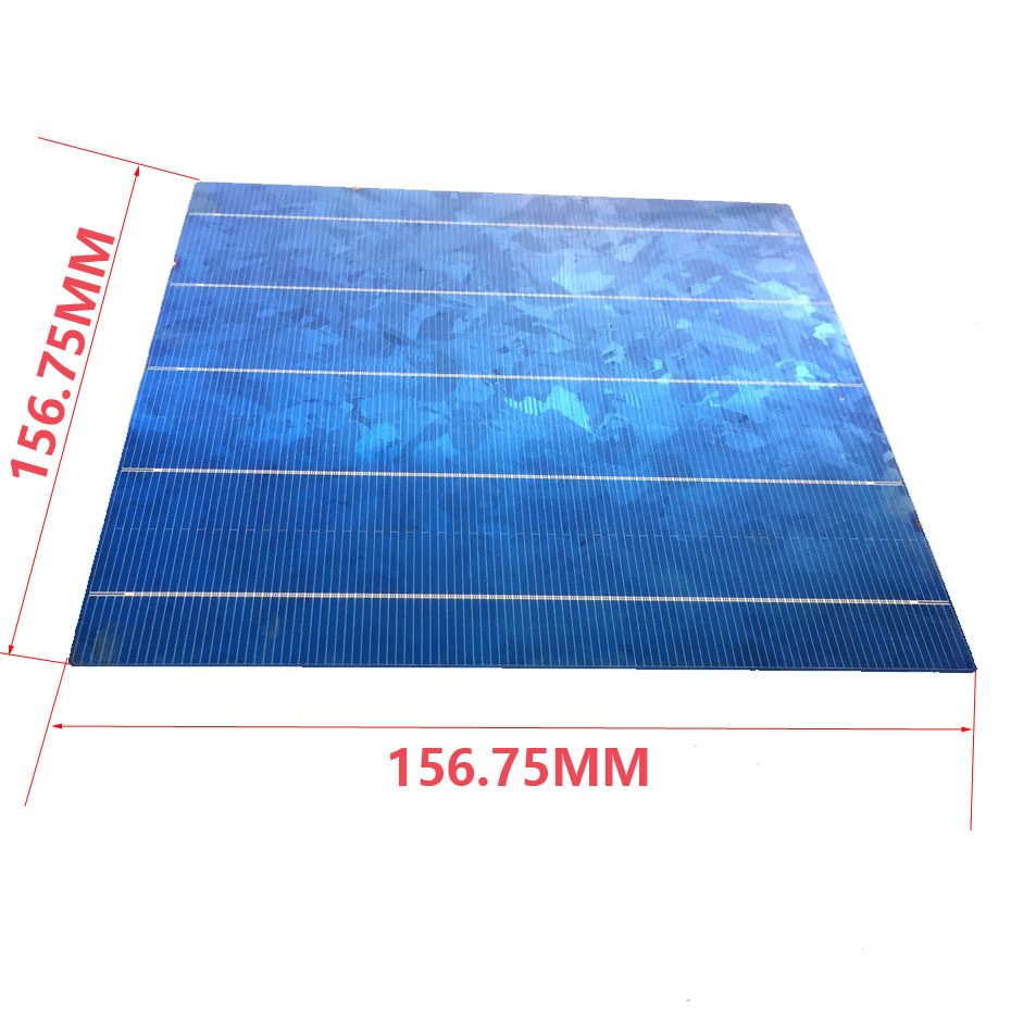 Image 2 - 40PCS 4.5W 6x6 Photovoltaic Polycrystalline 5BB Solar Cells  For home DIY Solar Panel solar charger-in Solar Cells from Consumer Electronics