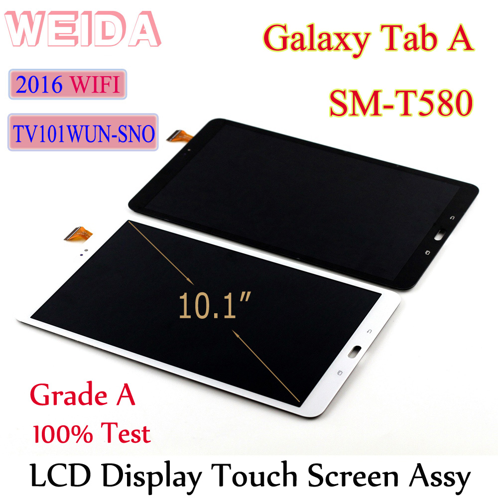 Replacment Lcd-Display Touch-Screen-Assembly T580 Galaxy Tab T585 Samsung TV101WUN-SNO