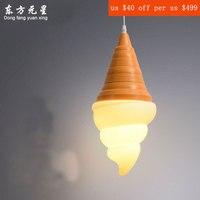 Nieuwigheid hanglamp Ijs slaapkamer aantrekkelijke LED sfeer hanger verlichting voor eetkamer boek lezen opknoping lamp