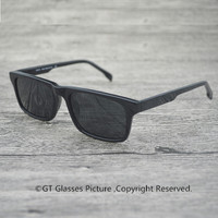 U.S.A Clear Sunglasses Brand Sun glass Designer Polarized High Quality Memory Acetate Eyewear Rectangle Sunglasses Men